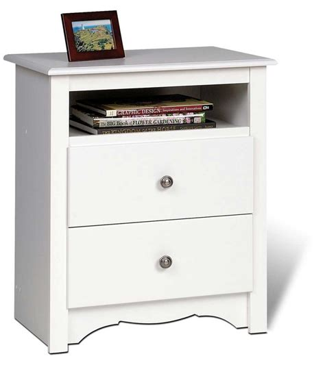 cheap white night tables 3 discount prepac monterey queen platform storage bed set