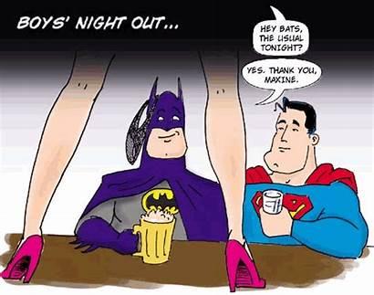 Comic Strip Sup Night Bat Comedy Fourth