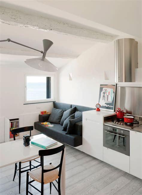 modern small apartment small modern attic apartment with harbour view idesignarch interior design architecture