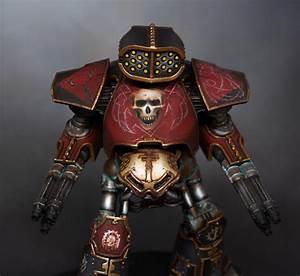 Adeptus Titanicus Reaver Titan From Legio Mortis