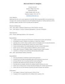 resume template for microsoft word starter modele cv microsoft word