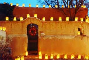 christmas luminarias or farolitos rhapsody in books weblog