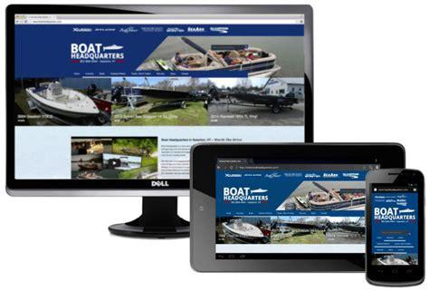 Boat Parts Vt by Boat Dealership Website Design By Burlington Bytes