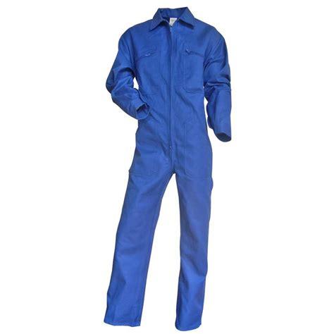 combinaison de travail 100 coton bleu bugatti taloche lma