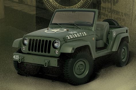 Jeep Celebrates Birthday With Wrangler 75th Salute Concept