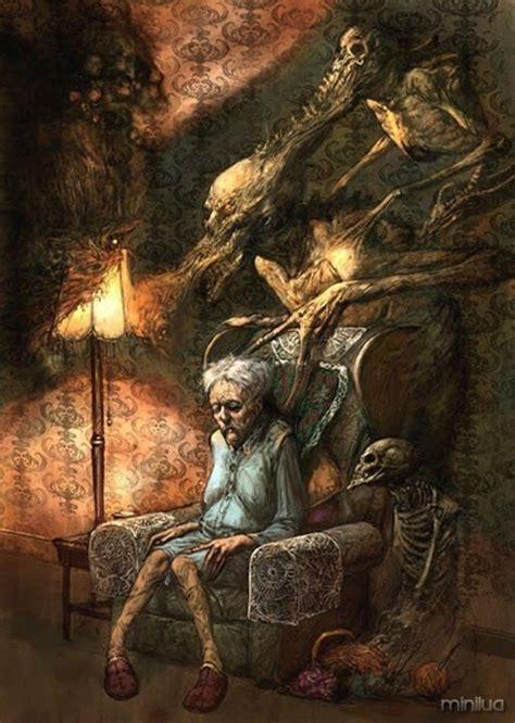 terror em obras de arte insanamente macabras  minilua