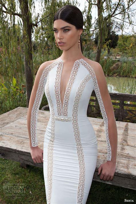 berta  bridal collection long sleeve wedding dresses