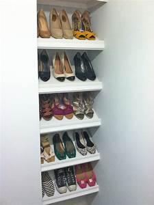 Designer, Shoe, Shelves, On, A, Budget