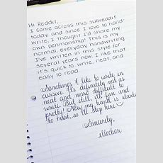 25 Amazing Examples Of Perfect Handwriting  Handwriting  Perfect Handwriting, Handwriting