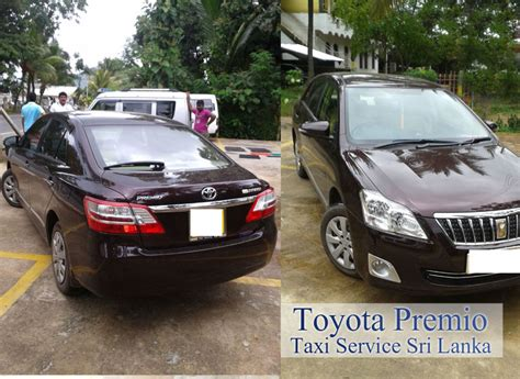 Vehicle Types Are Available » Taxi Service Sri Lanka
