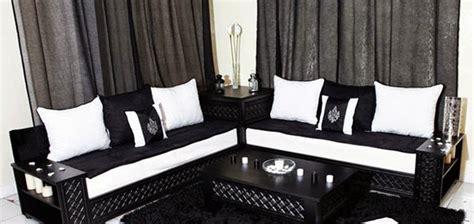 tissu canapé marocain salon marocain moderne achat salon contemporain