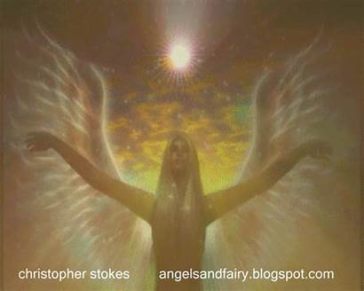 Healing Angel Animation Angelic Angels Animated Heart