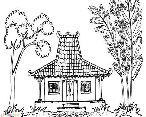 20 gambar kartun rumah adat di indonesia