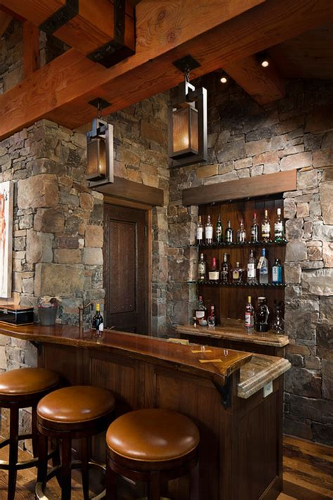 Home Bar Themes by 58 Exquisite Home Bar Designs Built For Entertaining