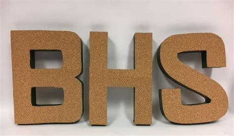 cork board letters cork board letters mangelsen s 20972 | bhs letters