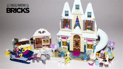 ligo frozen lego disney frozen arendelle castle celebration with
