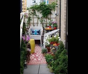 deco 15 idees pour amenager son balcon ou une petite With amenager une petite terrasse