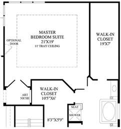 master bedroom plans x master bedroom floor plan with bath and walk in closet