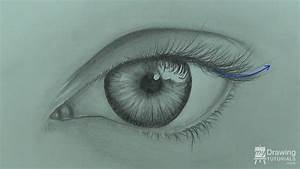 How To Draw An Eye | My Drawing Tutorials