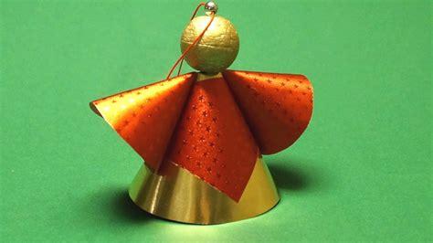 engel aus papier basteln basteln f 252 r weihnachten engel aus papier basteln