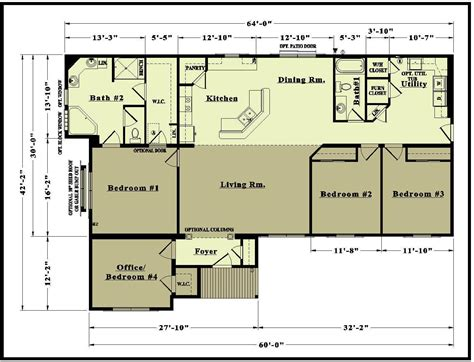 floor plans baby nursery open concept ranch floor plans house plans
