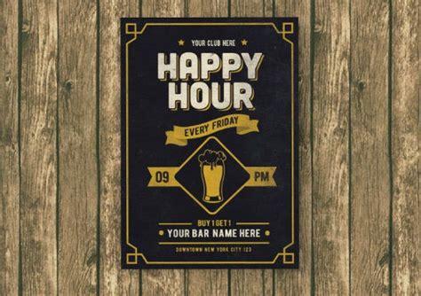 14+ Happy Hour Menu Designs & Templates PSD AI Free