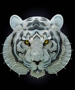 Patrick cabral39s intricate papercuts raise awareness for for Endangered species cut from paper by patrick cabral