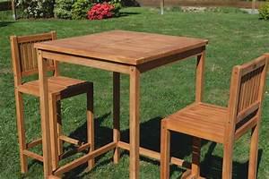 Bartisch Mit Barhocker : bar set teak bartisch bistrotisch stehtisch 80x80cm mit 2x barhocker holz modell jav bima ~ Yasmunasinghe.com Haus und Dekorationen