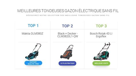 comparatif tondeuse electrique comparatif tondeuse gazon electrique sans fil la meilleure tondeuse sans fil