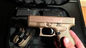 Glock 27 Gen 4  Dark Earth