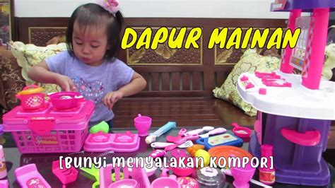 dapur mainan anak mainan masak masakanbalita lucu