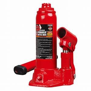 Big Red 20-ton Air Hydraulic Bottle Jack-ta92006
