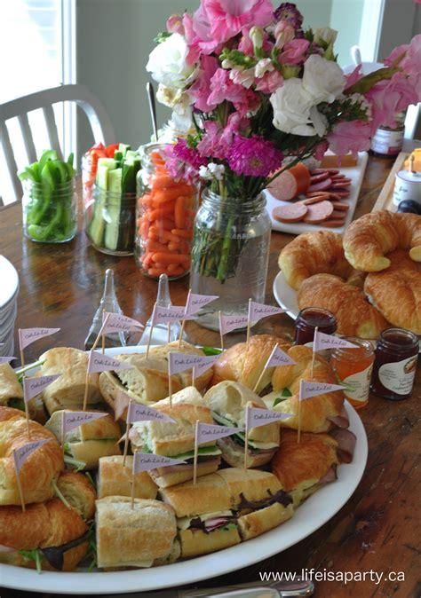 Paris Birthday Party Food French Menu Ideas Kid Friendly