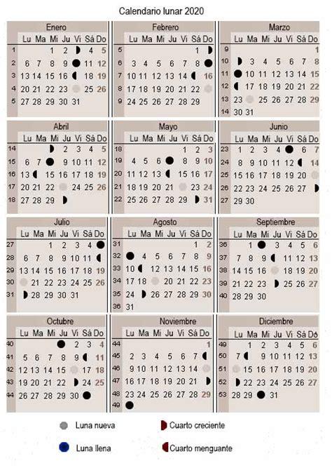 calendario lunar del embarazo calendarios de embarazo