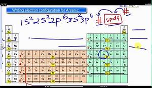 Write Electron Configuration For Arsenic