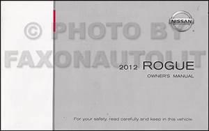 2012 Nissan Rogue Owner U0026 39 S Manual Original
