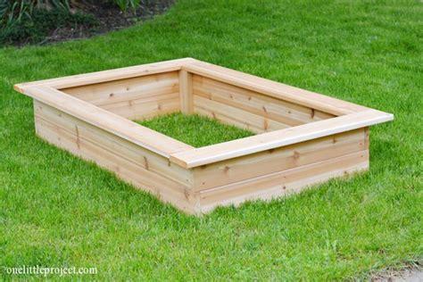 above ground garden box how to make a garden box