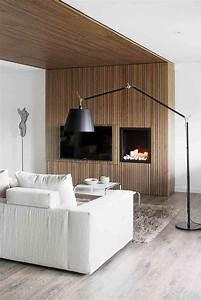 Mur Interieur En Bois De Coffrage : d coration chemin e quel habillage d coratif choisir ~ Premium-room.com Idées de Décoration