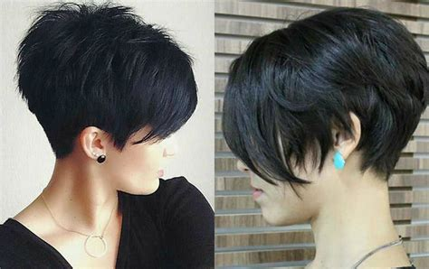 Vibrant Layered Pixie Haircuts 2017 Very Short Mens Hairstyles 2013 Cool Videos Zyzz Hairstyle Razored Relaxing Hair Color Ugly Duckling Stacked Bob Haircut Tumblr To Do On The First Day Of School