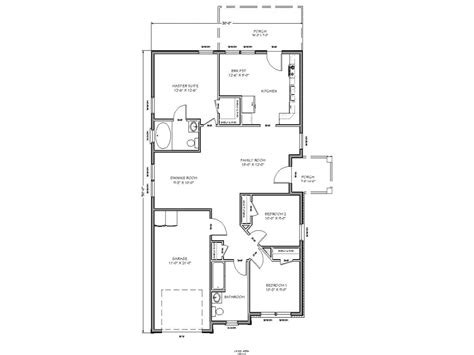 2 floor plans small house floor plan small two bedroom house plans