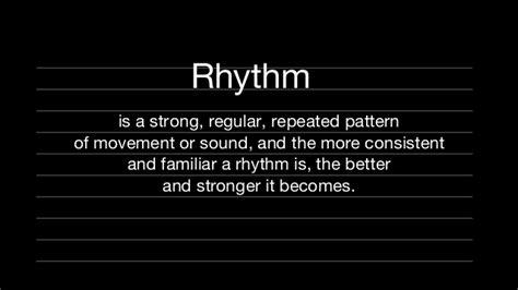 vertical rhythm