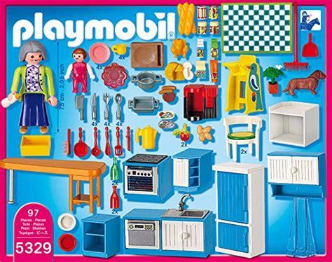 playmobil cuisine 5329 playmobil 5329 jeu de construction cuisine