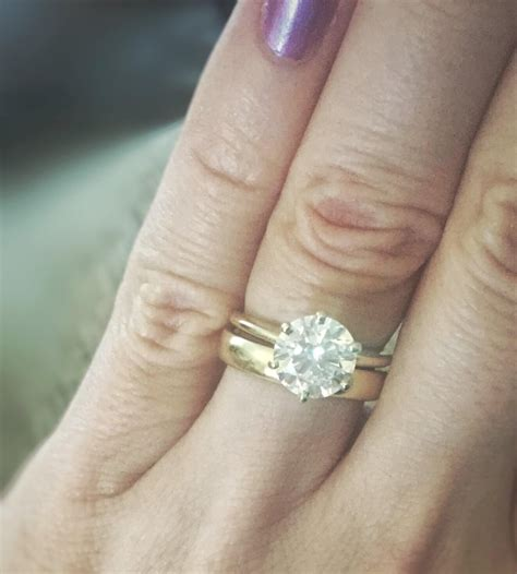 wedding ring combinations engagement ring and wedding band combinations wedding inspirations engagement rings