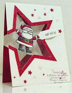 Cute santa made with Stampin Up punches