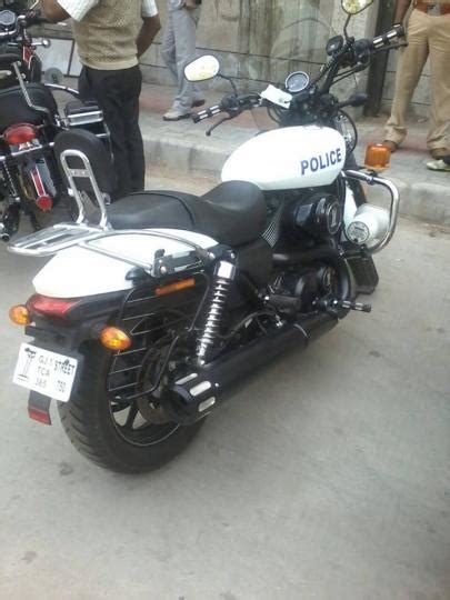 Gujarat Police Adds Harley Davidson Bikes To Its Fleet