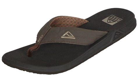 reef water friendly mens sandals phantoms brown ebay
