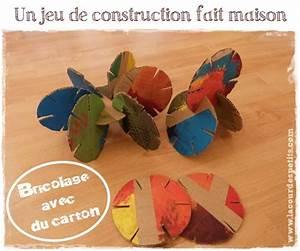 Bricolage A Faire Avec Des Petit : petit bricolage avec du carton la cour des petits ~ Melissatoandfro.com Idées de Décoration