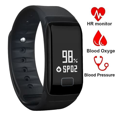 Smart Bracelets F1 Blood Pressure Monitor Fitness Bracelet