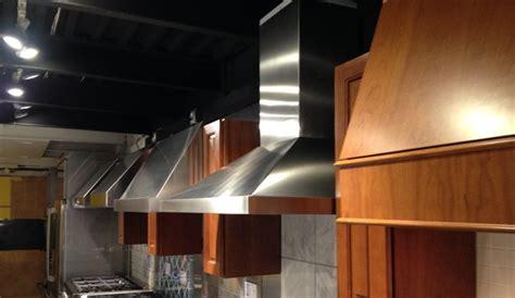 ventilation hoods  professional gas ranges