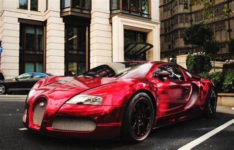 Chrome Red Wrap